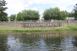 Welcome Home! Heading to the DVC Centre at Disney's Saratoga Springs Resort and Spa.
